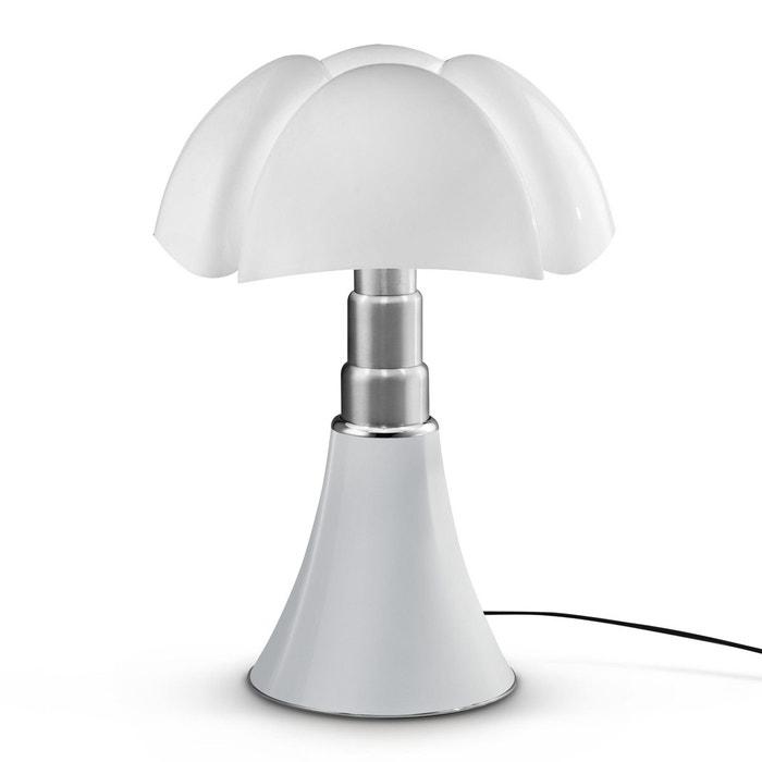 Lampe PIPISTRELLO Blanc pied télescopique H66-86cm - Lampe à poser Martinelli Luce designé par Gae Aulenti MARTINELLI LUCE