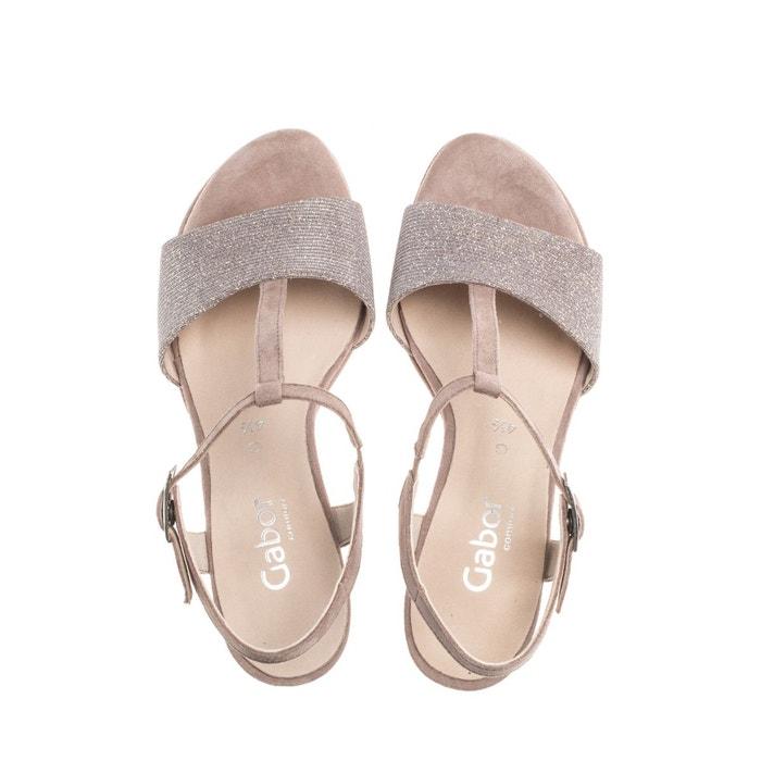 Sandales beiges beige Gabor
