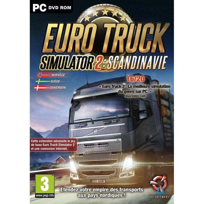 euro truck simulator 2 scandinavia just for games pc couleur unique scs software la redoute. Black Bedroom Furniture Sets. Home Design Ideas