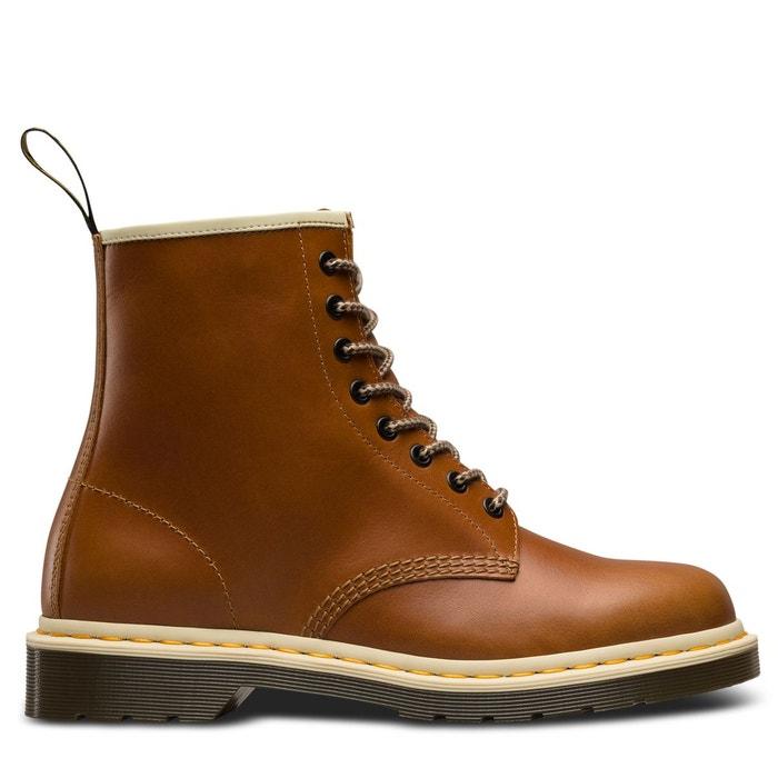 21b001a9412 Bottines cuir à lacets 1460 marron Dr Martens