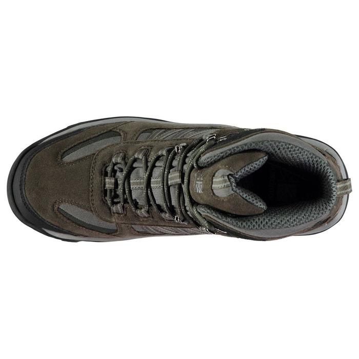 Bottes de marche imperméables randonné noir mer Karrimor