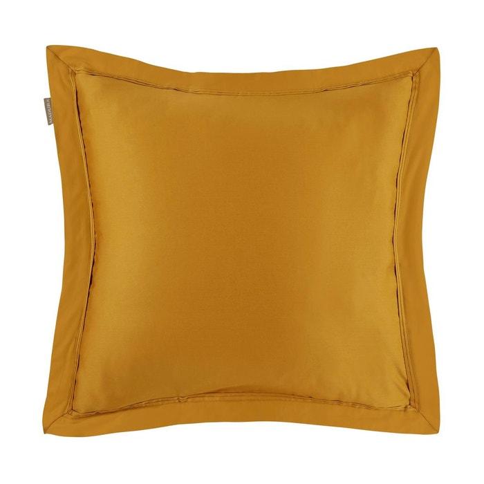 taie d 39 oreiller coton aurore ocre ocre madura la redoute. Black Bedroom Furniture Sets. Home Design Ideas