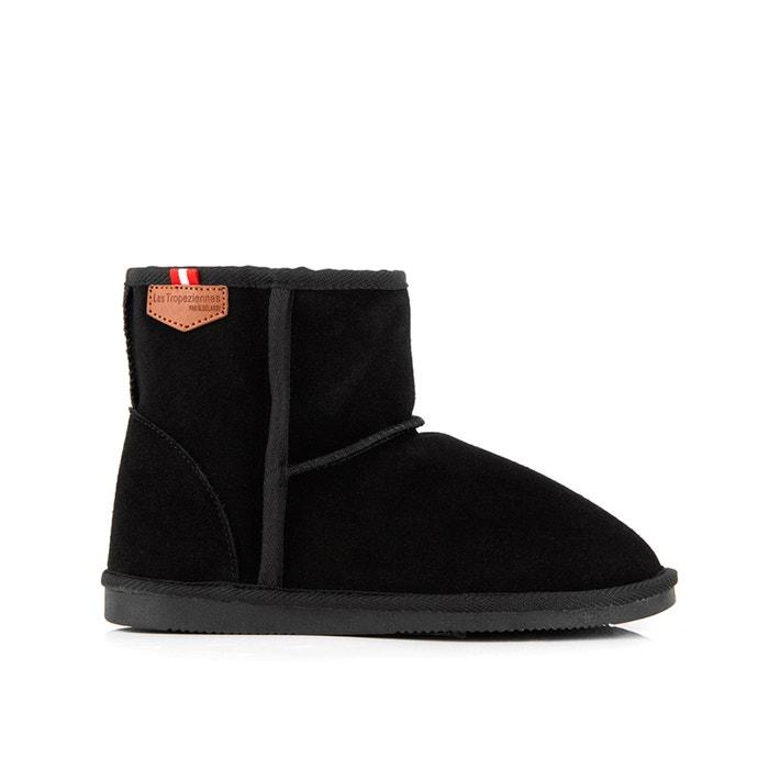 Boots cuir fourrées Winter