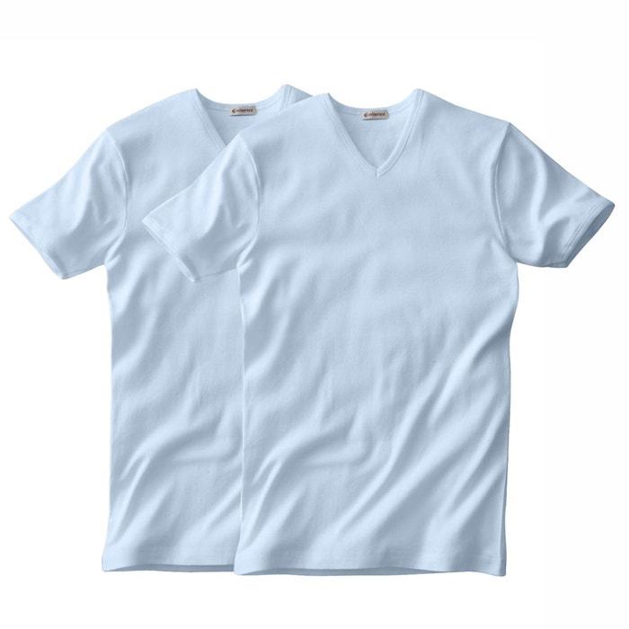Confezione da 2 T-shirt EMINENCE scollo a V maniche corte  EMINENCE image 0