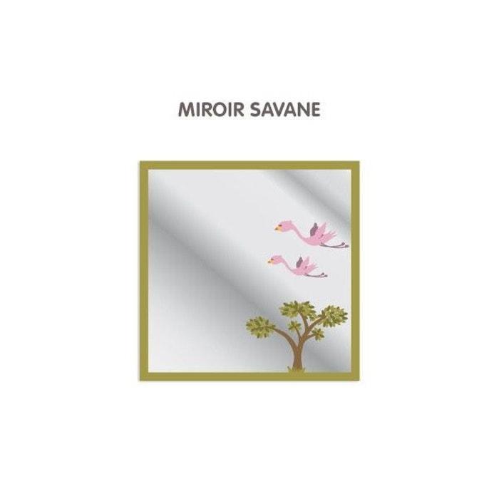 Miroir enfant savane multicolore decoloopio la redoute for Miroir enfant