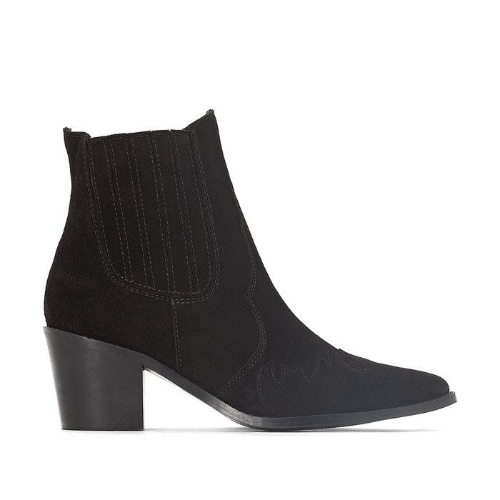 Boots cuir pied large 38 Acheter Pas Cher Pour Pas Cher tyPXFci