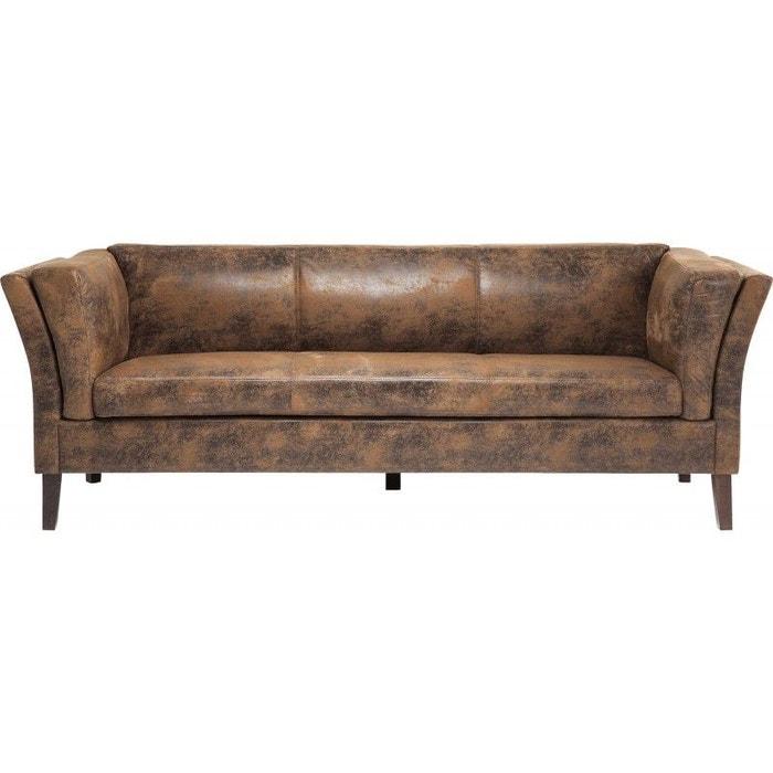 canap 3 places vintage eco kare design kare design la redoute. Black Bedroom Furniture Sets. Home Design Ideas