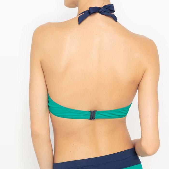 Two-Tone Bikini Top  La Redoute Collections image 0