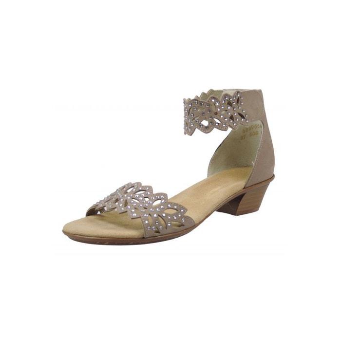 Sandales beige Rieker Jeu En Ligne Amazon Oqja5yD