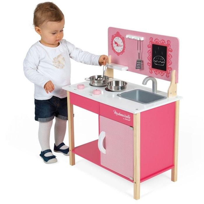 ma premi re cuisine mademoiselle bois jurj06566 rose janod la redoute. Black Bedroom Furniture Sets. Home Design Ideas