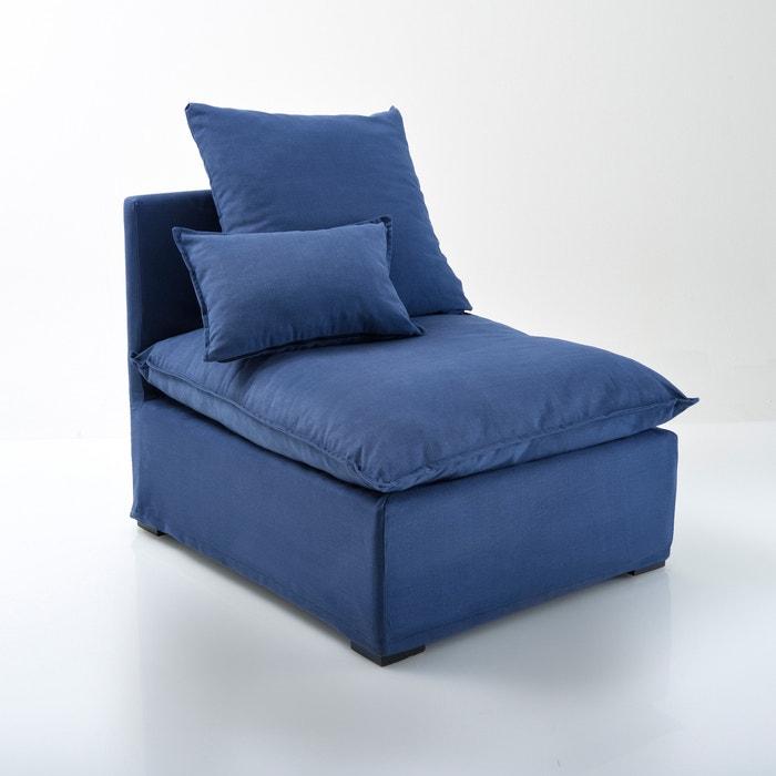 chauffeuse d houssable bachette pur coton n lia la redoute interieurs la redoute. Black Bedroom Furniture Sets. Home Design Ideas
