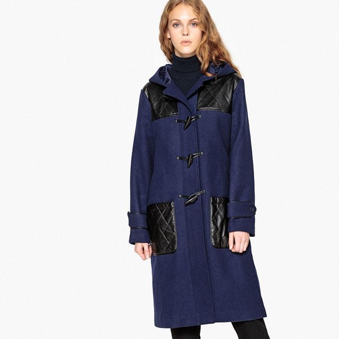 Duffle coat en mélange laine, détails quilté  LA REDOUTE COLLECTIONS image 0