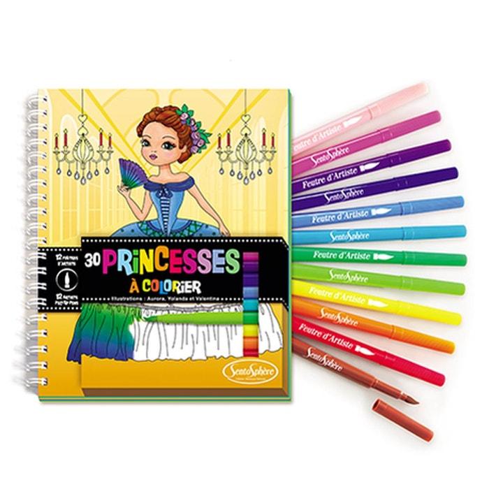 Carnet de coloriage princesses sentosphere la redoute - Coloriage minnie jouet ...