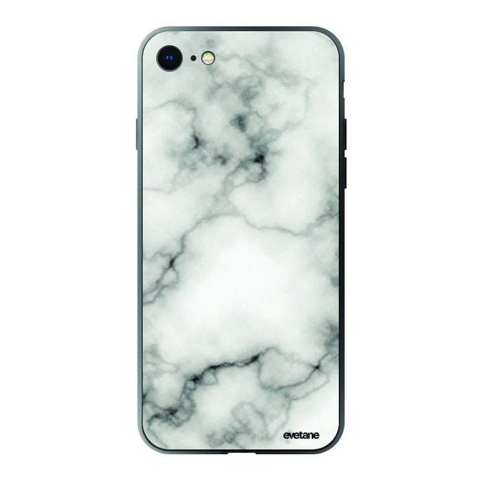 coque iphone 8 noir marbre