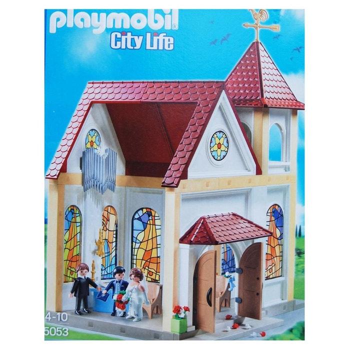 Playmobil 5053 l 39 glise pour les mariages romantiques couleur unique play - La redoute playmobil ...