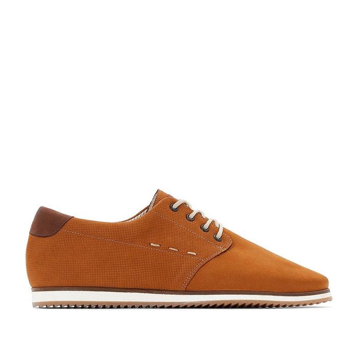 Chaussures à lacets Camel en Cuir Kost - Soldes vxdgflkF