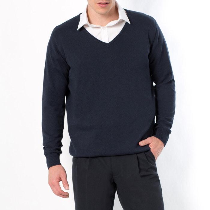 Image Sweter z dekoltem w serek CASTALUNA FOR MEN
