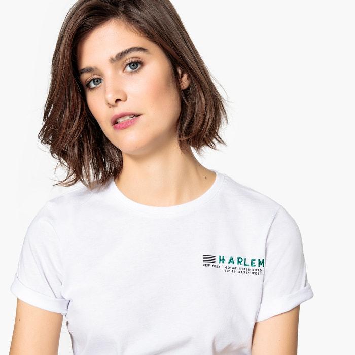 T-shirt ricamata  La Redoute Collections image 0
