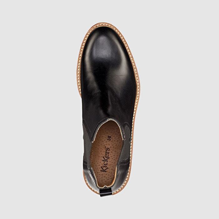 Boots en cuir oxfordchic Kickers