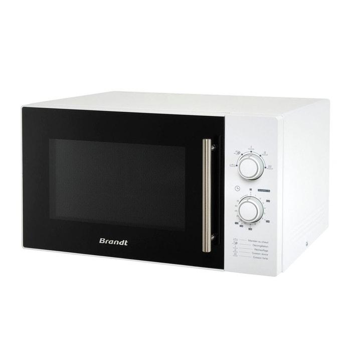 micro ondes sm2602w blanc brandt la redoute. Black Bedroom Furniture Sets. Home Design Ideas