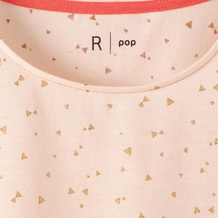 Image T-shirt imprimé triangles pailletés 10-16 ans La Redoute Collections