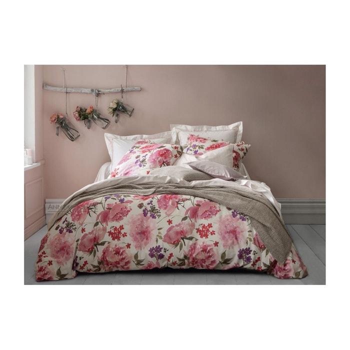 housse de couette pivoine rose anne de solene la redoute. Black Bedroom Furniture Sets. Home Design Ideas