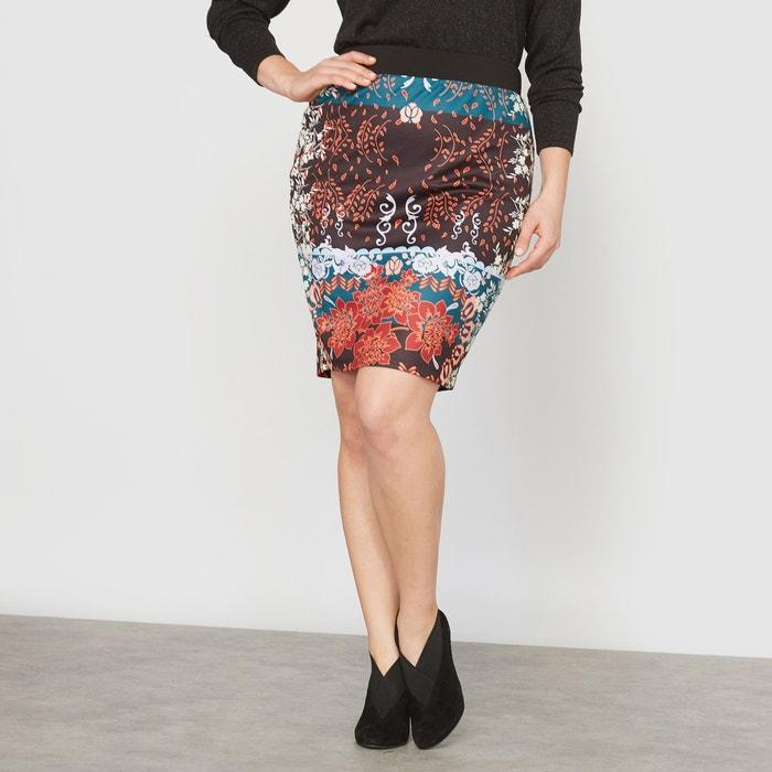 Image Printed Pencil Skirt CASTALUNA