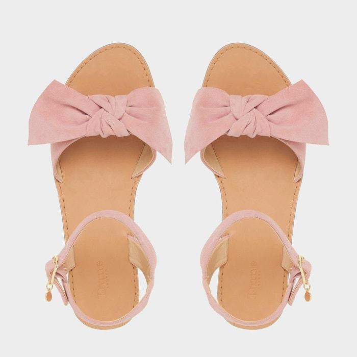 Sandales plates ornées dun n-ud - lettie Dune London