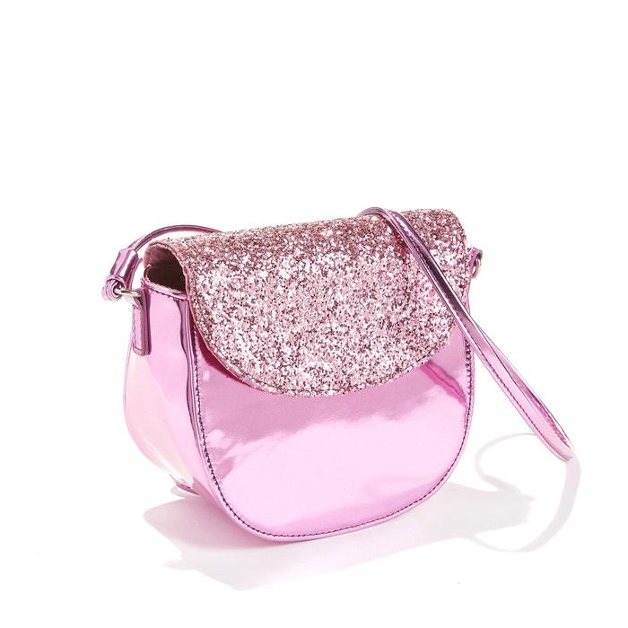 6ca77497cb Piccola borsa bambino con paillettes rosa color oro La Redoute ...