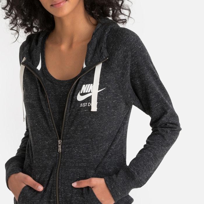 3e23a3d488 Gym vintage zip-up hoodie , black, Nike | La Redoute