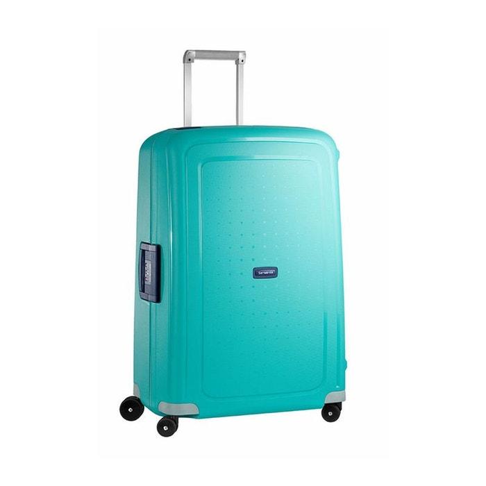 Valise rigide Samsonite S'Cure 75 cm Aqua Blue bleu wkzpOqjqH