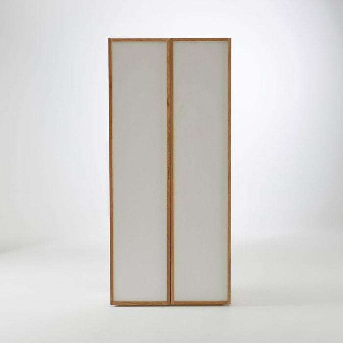 penderie 2 portes 3 tag res compo blanc la redoute. Black Bedroom Furniture Sets. Home Design Ideas