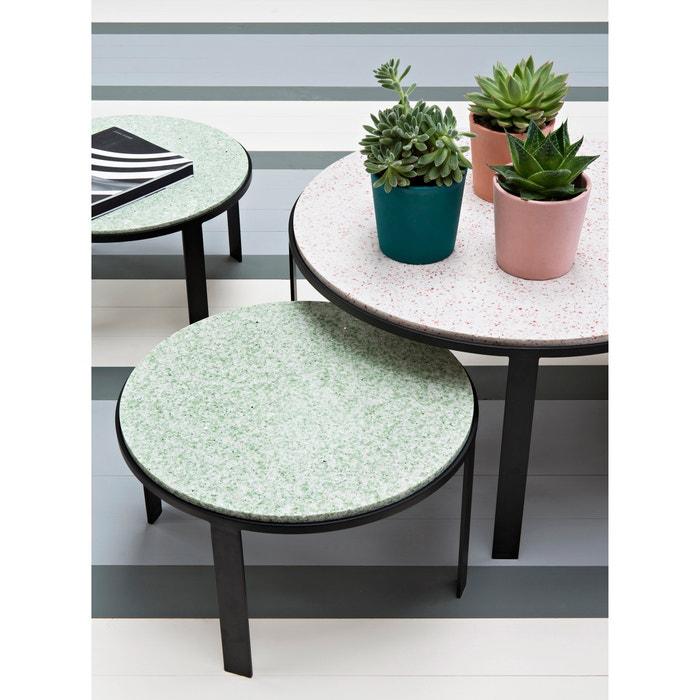 table basse en terrazzo maison sarah lavoine maison sarah lavoine vert la redoute. Black Bedroom Furniture Sets. Home Design Ideas