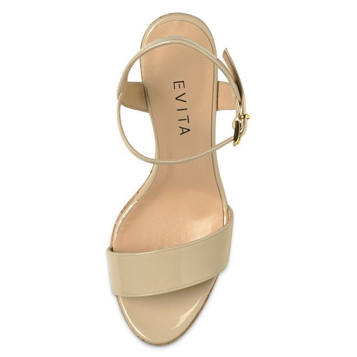 sandales compensé talon talon compensé au sandales EVITA EVITA au TZxpqwaX