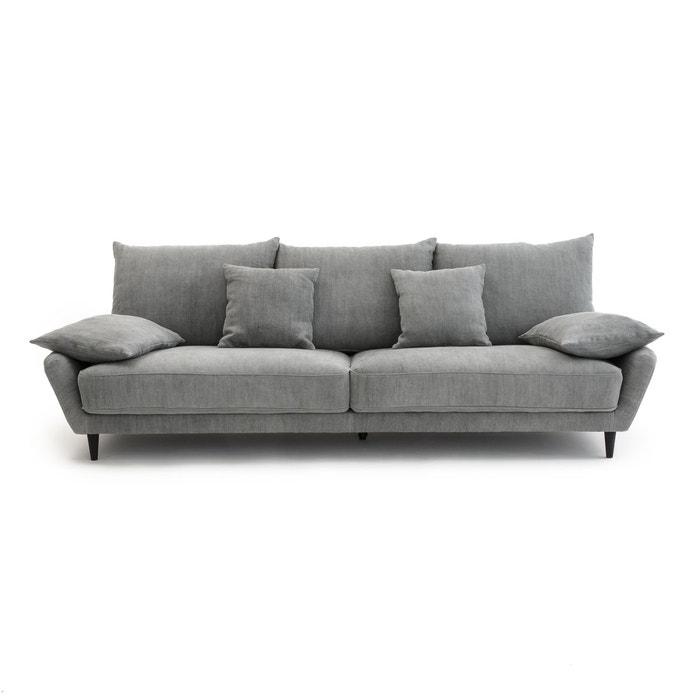canap fixe lenakine lin pais stonewashed am pm la redoute. Black Bedroom Furniture Sets. Home Design Ideas
