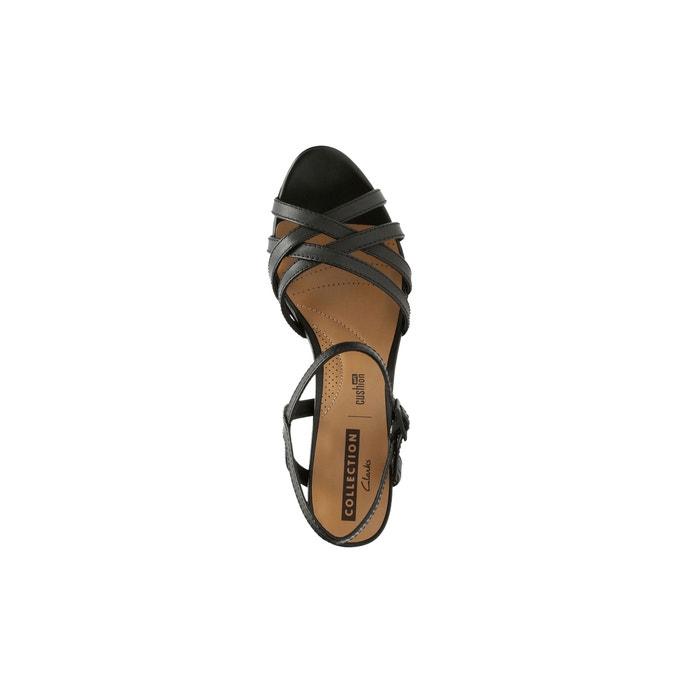 83351f04de00 Adriel wavy high heeled leather sandals