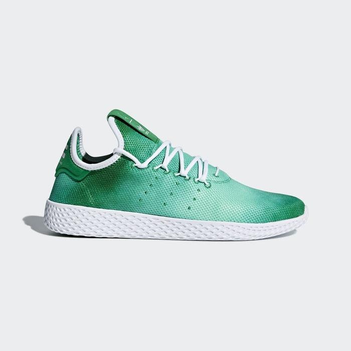 Adidas Pharrell Williams Tennis Hu Fille Baskets Mode Vert 4QNUZxfABy