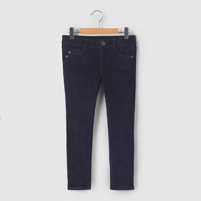 Image Pantalon slim velours 3-12 ans R essentiel