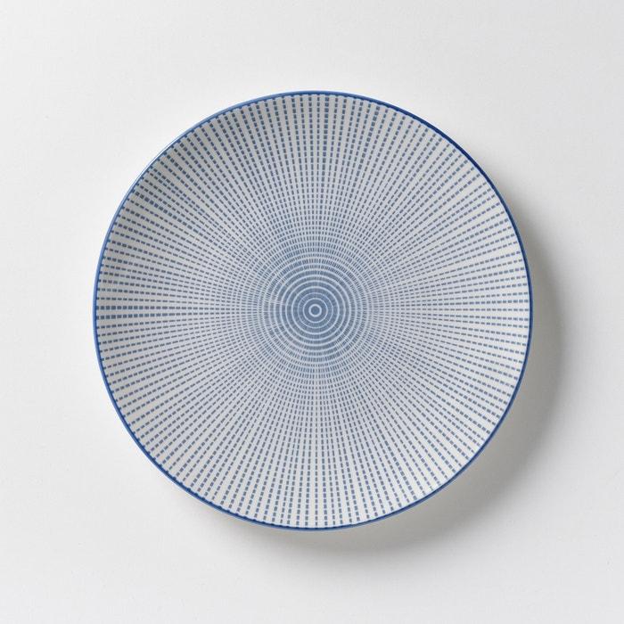 Image Set of 4 Shigoni Porcelain Dessert Plates AM.PM.