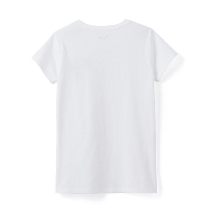 Image T-shirt avec badge 10-16 ans La Redoute Collections
