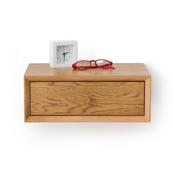 chevet mural 1 tiroir quilda ch ne la redoute interieurs la redoute. Black Bedroom Furniture Sets. Home Design Ideas