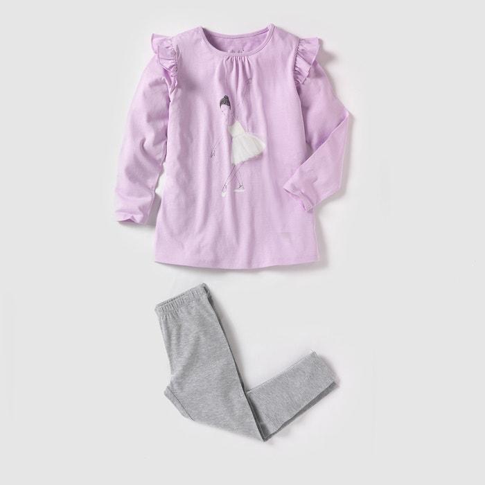 Image Pyjama jersey imprimé danseuse 2-12 ans abcd'R