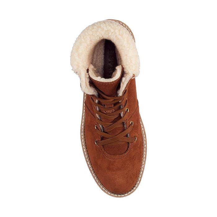 ea778ff83f86ce Boots cortina lace marron Esprit | La Redoute