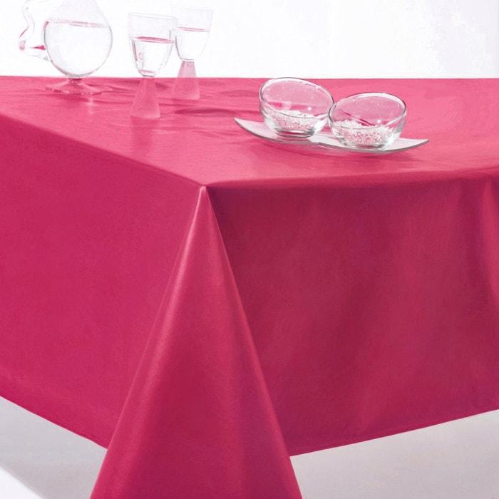 Nappe unie pvc scenario la redoute for La redoute linge de table