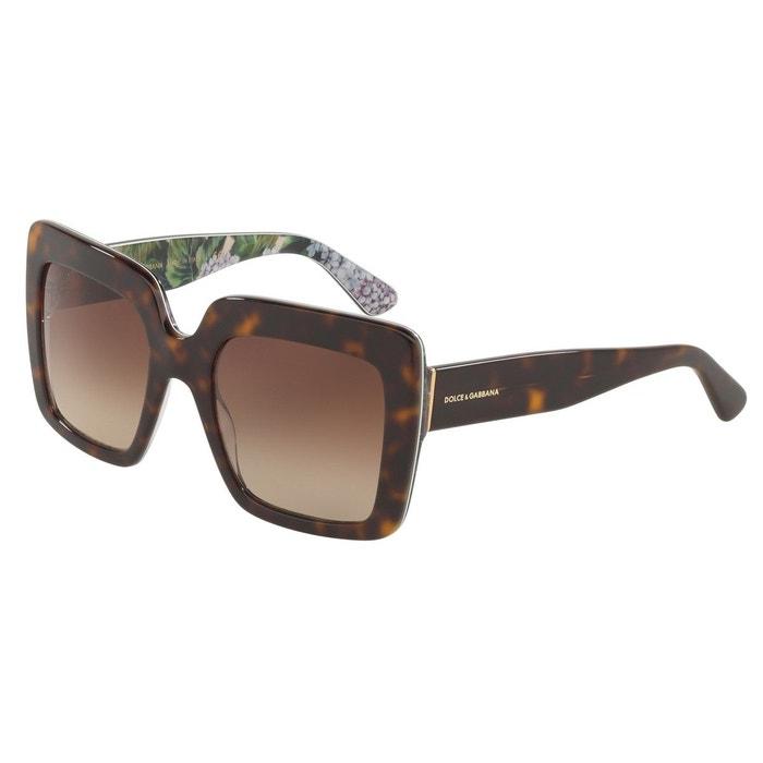 093bebea8b6f05 Lunettes de soleil dg4310 marron glacé Dolce Gabbana   La Redoute