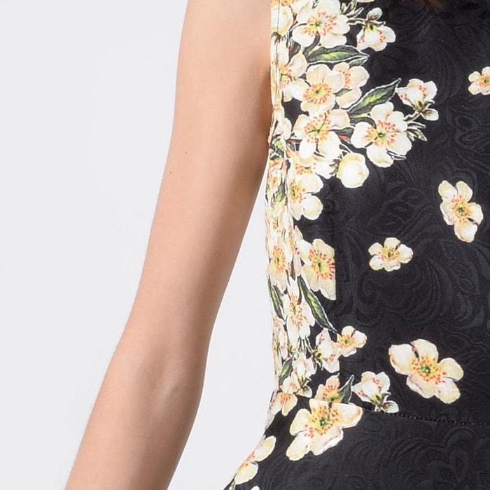 Vestido MOLLY manga BRACKEN de con corto flores estampado corta vpq6x75wp