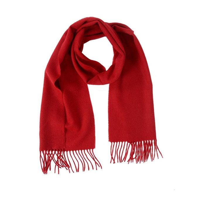 73a0c260004c Echarpe unie 100% laine rouge foncé Tie Rack   La Redoute
