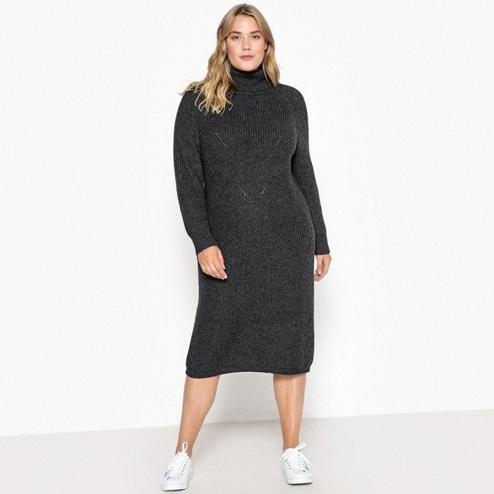 authentique qualité incroyable super pas cher se compare à Robe moulante, mi-longue, manches longues