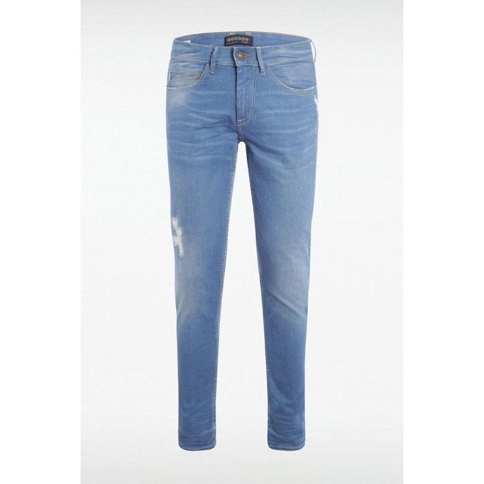 jeans homme slim denim baby blue bonobo la redoute. Black Bedroom Furniture Sets. Home Design Ideas