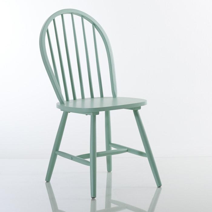 Image Chaise à barreaux hêtre massif, WINDSOR (lot de 2) La Redoute Interieurs
